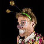 retrato clown Romain